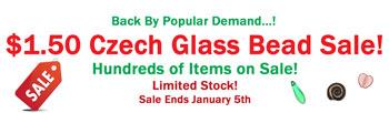 Czech Glass Bead Sale