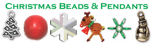 Christmas Beads and Pendants