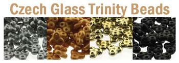 Czech Trinity Beads