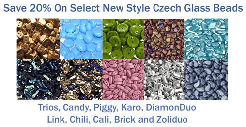 New Style Czech Glass Sale