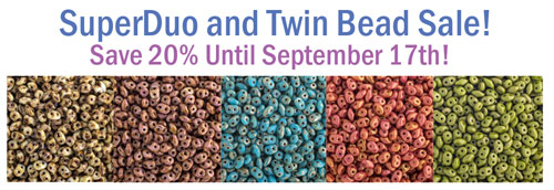Super Duo and Twin Bead Sales